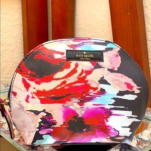 Kate Spade Women's Floral Medium Dome Cosmetic Bag